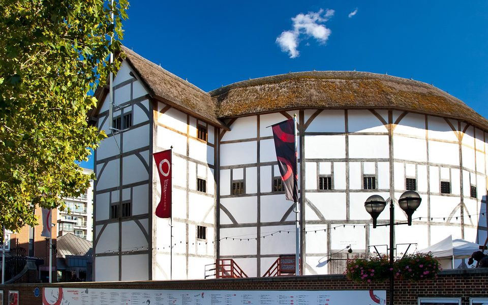 Photograph of the Globe Theatre exterior